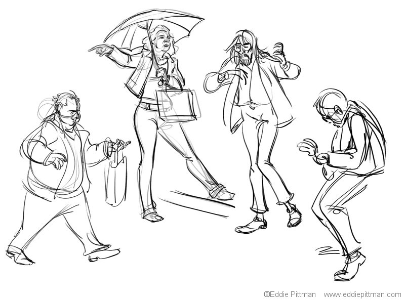Park Sketches