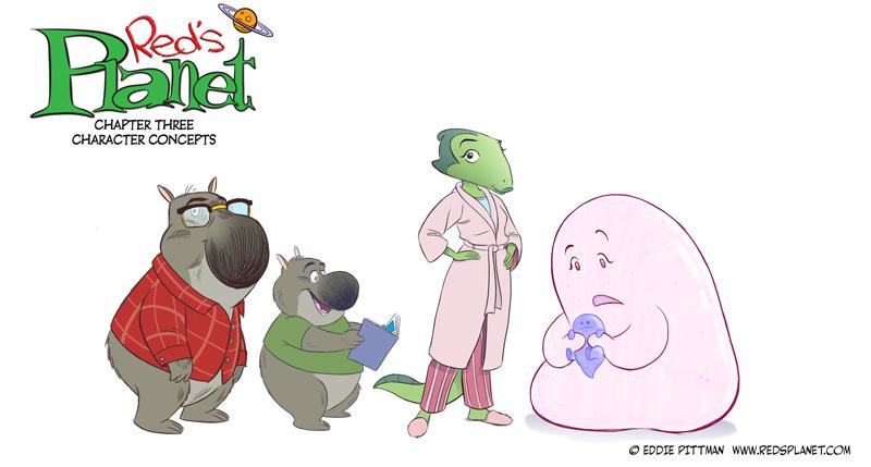 Character Design Visual Development : Portfolio eddiepittman